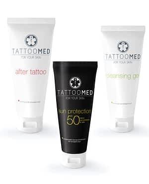 Paket Tattoo Med® izdelkov za nego tatujev